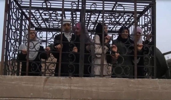 Photo of Rabid Dogs of ISIL Using Civilians for Human Shield against Army Advances in Raqqa