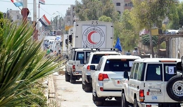 Photo of Aid Convoy Soon Heading to Nubl, Zahra After Army's Breaking Siege