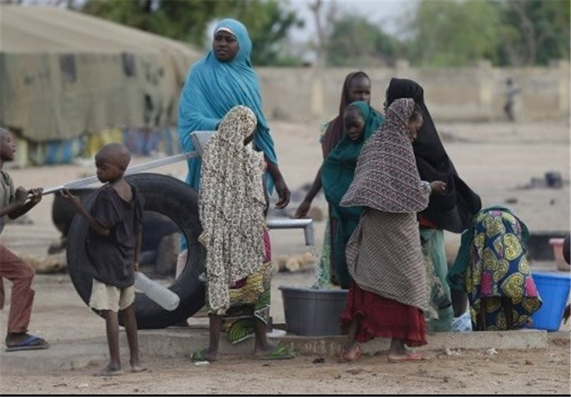 Photo of Nigerian Refugee Camp Hit by Twin Suicide Bombings