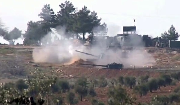 Photo of Turkish Shelling of Syrian Territory Confirmed by Several Sources