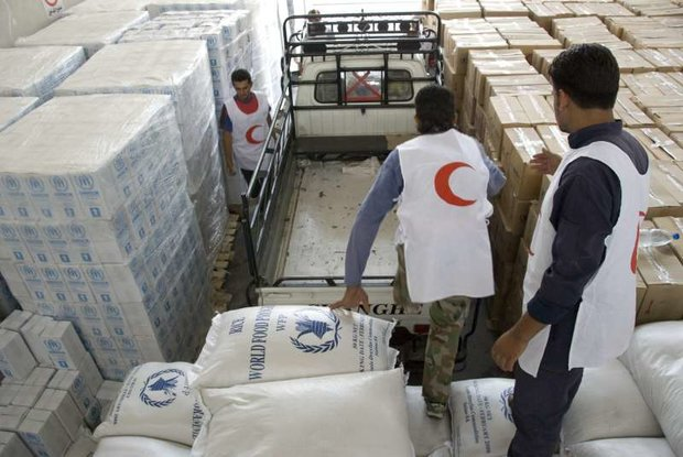 Photo of Food packages distributed to villages in Damascus countryside