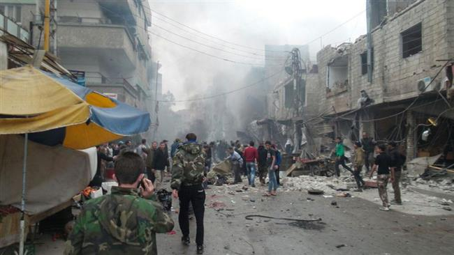 Photo of 83 dead as multiple Daesh bombings hit Syria capital