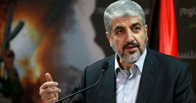 Photo of TV interview with Mishaal on resistance, liberation strategies