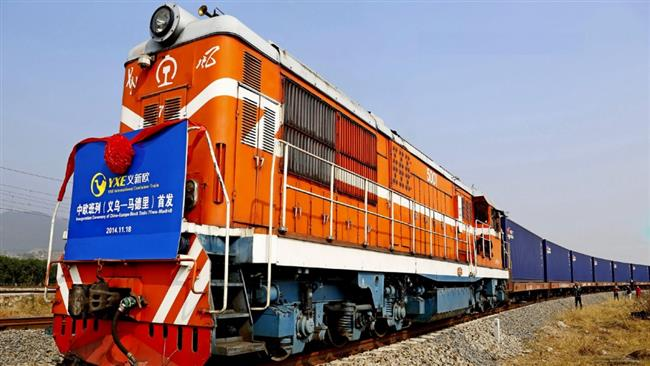 Photo of Silk Road train in Tehran tomorrow