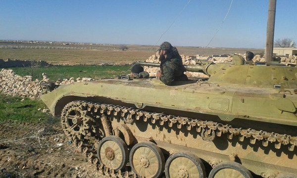 Photo of Tiger Forces capture 4 villages from ISIS in east Aleppo