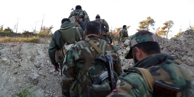 Syrian Army Win Control over Strategic Mountain in Lattakia, Terrorists Choked