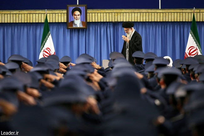 """Be Careful About What Lies Behind Enemy Smiles"": Ayatollah Khamenei"