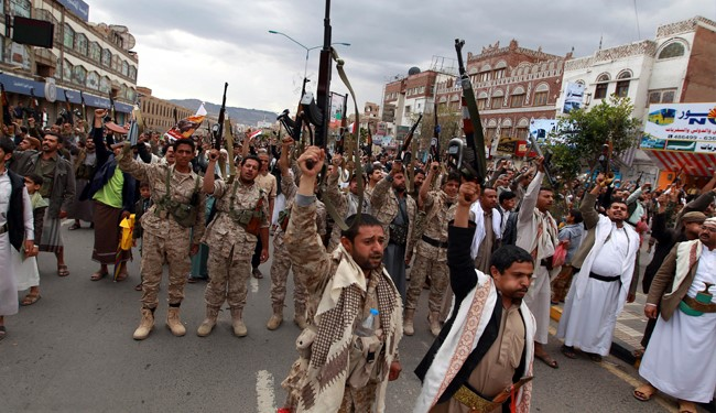 EXCLUSIVE VIDEO: Yemeni Forces Take Key Military Camp outside Sana'a