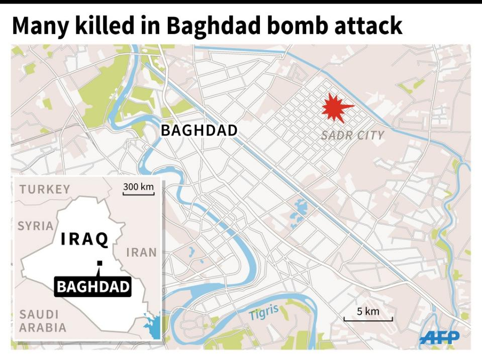 Photo of 170 killed and Injured in Baghdad's Deadliest Sunday