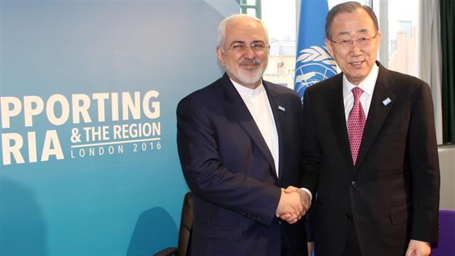 Photo of Iran FM, UN chief discuss regional developments in London