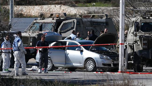 Photo of Palestinian teenage boy critically wounded in West Bank
