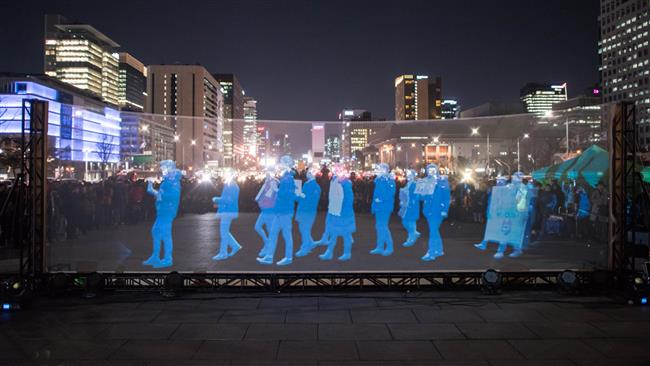 Photo of South Koreans hold 'ghost protest' over free speech