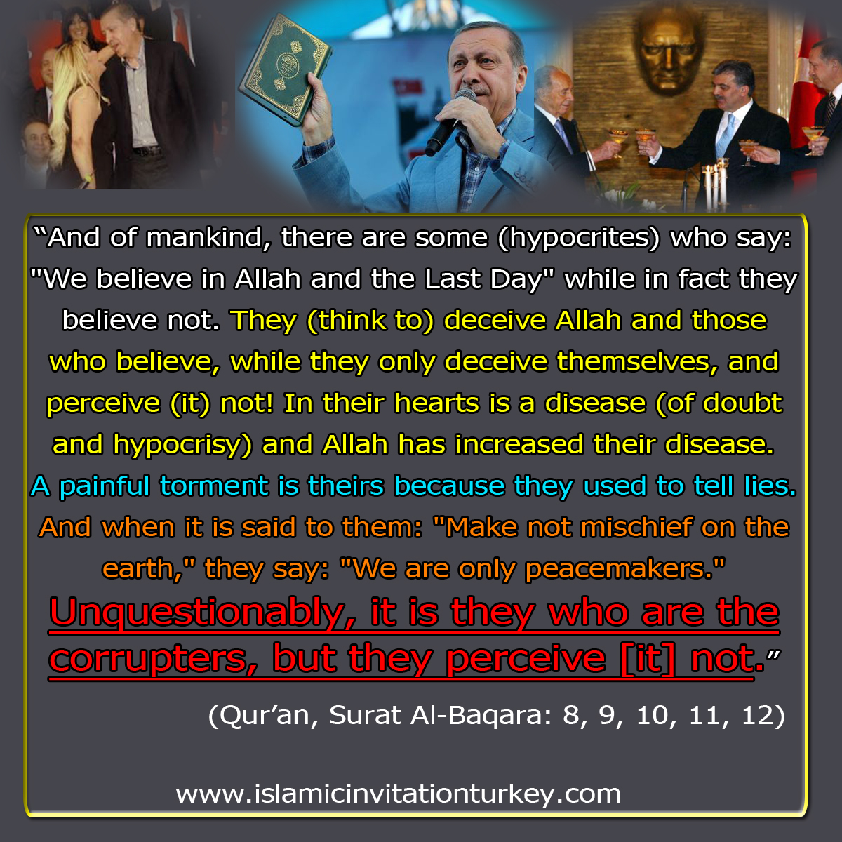 hypocrites in Qur'an