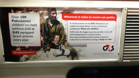 Photo of London Train Posters Show Palestinian Reality