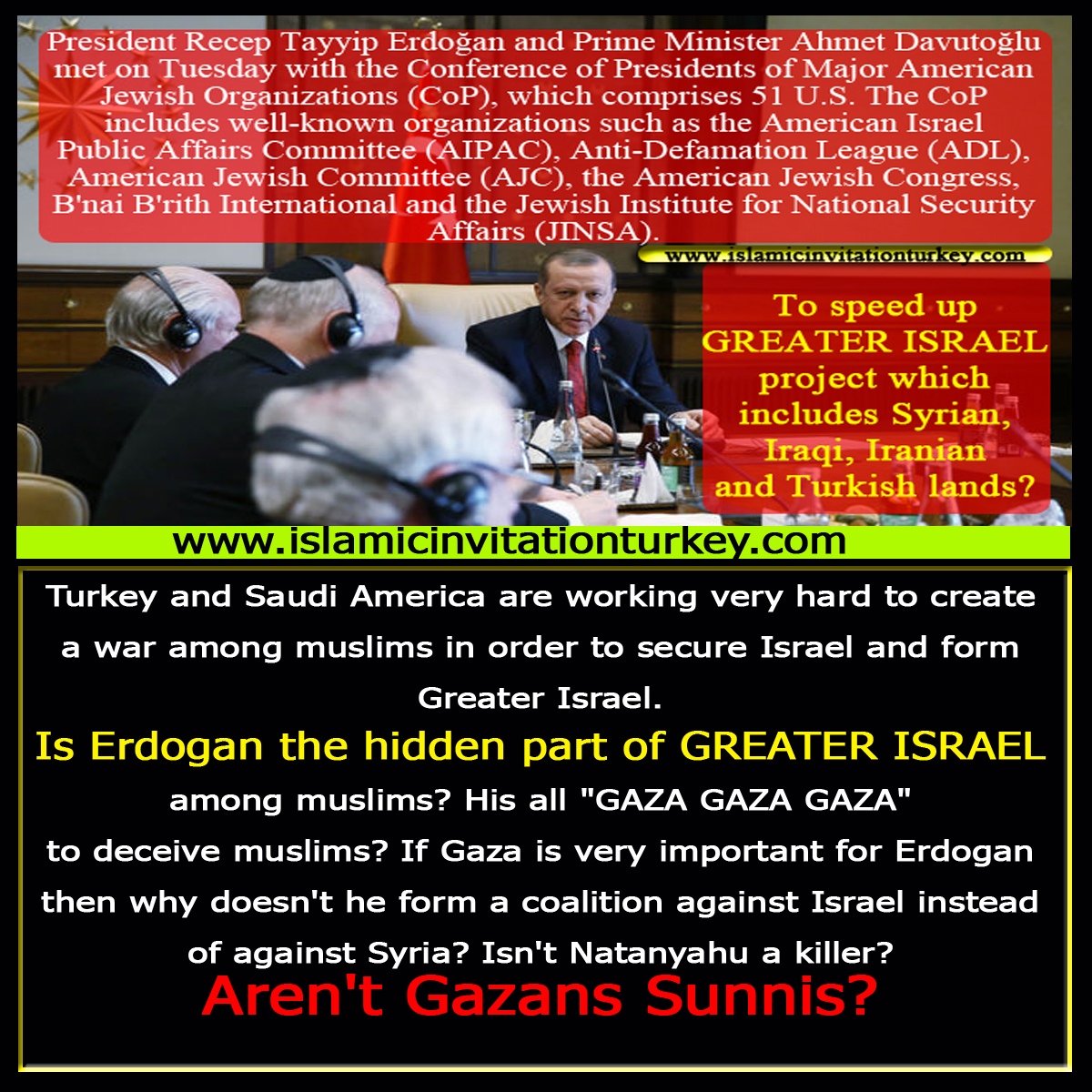 Photo of Is Erdogan the hidden part of Greater Israel for years?