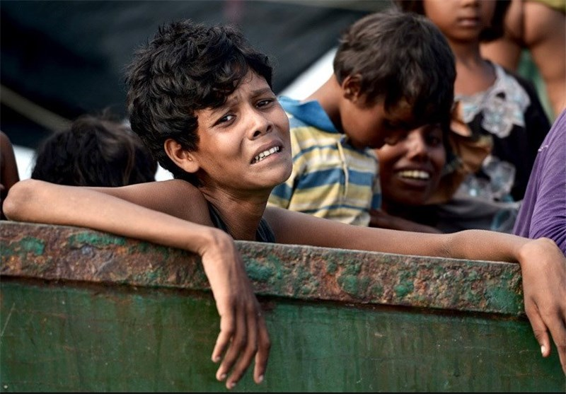 Photo of Myanmar's Rohingya Muslims Left Behind by Election Gains