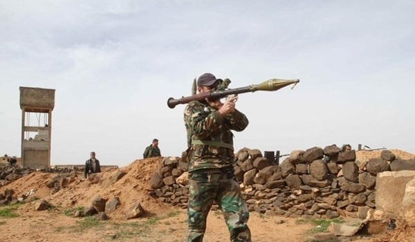 Photo of Syrian Army Destroys Terrorists' Military Positions in Homs Countryside