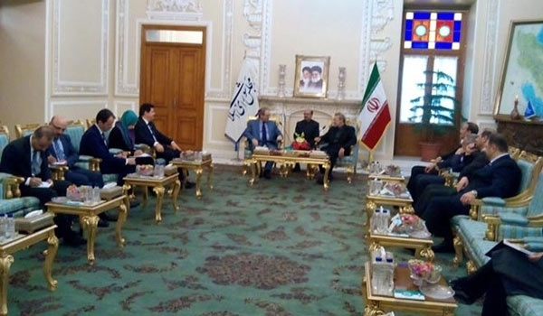 Photo of Speaker: Iran to Continue Support for Syrian Nation