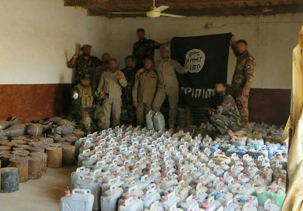 Photo of Iraqi Forces Seize ISIL Bomb-Making Factory in Salahuddin Province