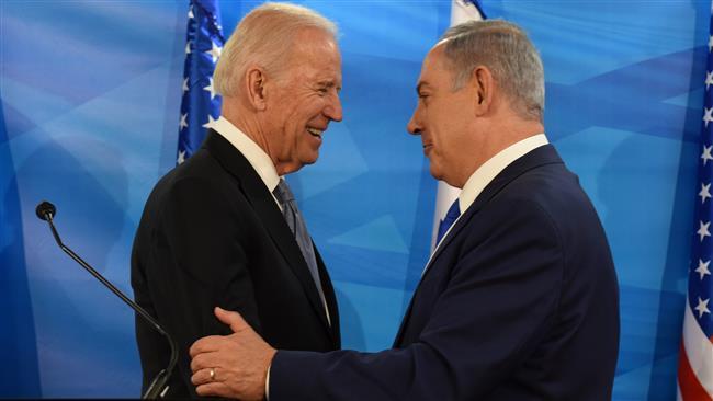 Photo of Inhuman zionist Biden says US to 'stand firmly behind Israel'