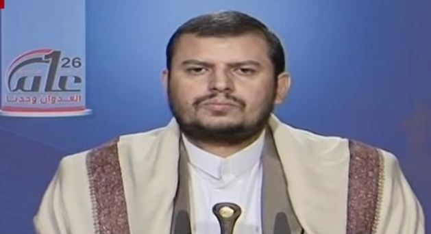 Photo of Sayyed Houthi: Saudi Arabia Committing Genocide in Yemen