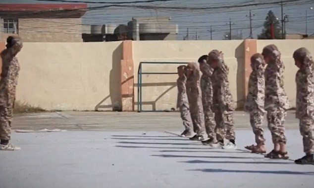 Photo of Innocents Orphans Being Trained as Next Generation of Terrorists