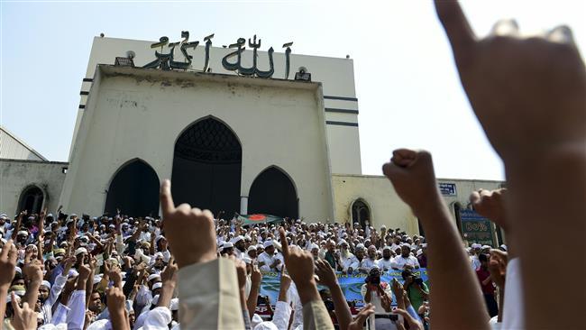 Photo of Bangladeshi protesters slam bid to remove Islam as state religion