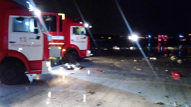 Photo of UAE plane crashes in Southern Russia, all aboard dead