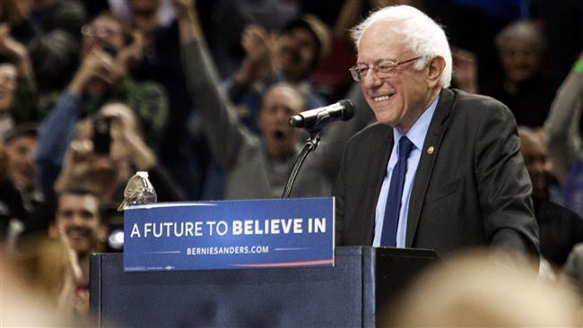 Photo of Bernie Sanders sees 'path toward victory'