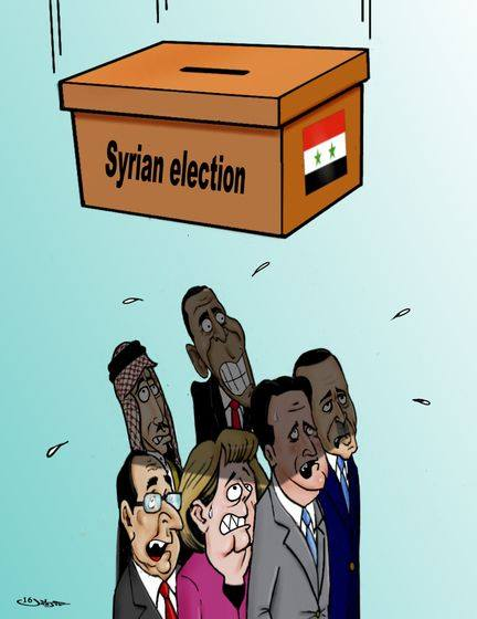 Photo of Syrian Election
