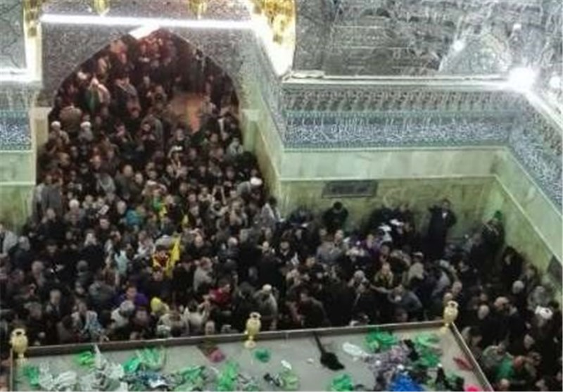 Photo of 2 Million Pilgrims in Iraq's Samarra for Mourning Ritual