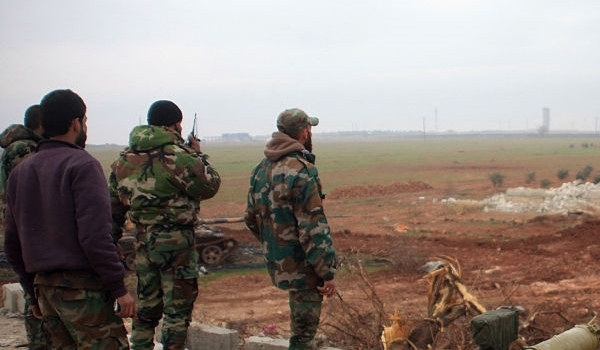 Photo of Al-Nusra, ISIL Terrorists' Positions Targeted Heavily by Syrian Army across Aleppo
