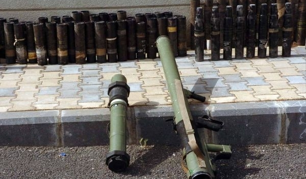 Photo of Israeli-Made Arms Cargo Seized by Syrian Army in Sweida