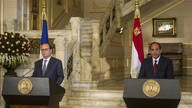Photo of Egypt, France ink cooperation agreements amid anti-govt. protests