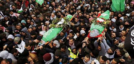 Photo of 45 Palestinian children killed in the six months of uprising