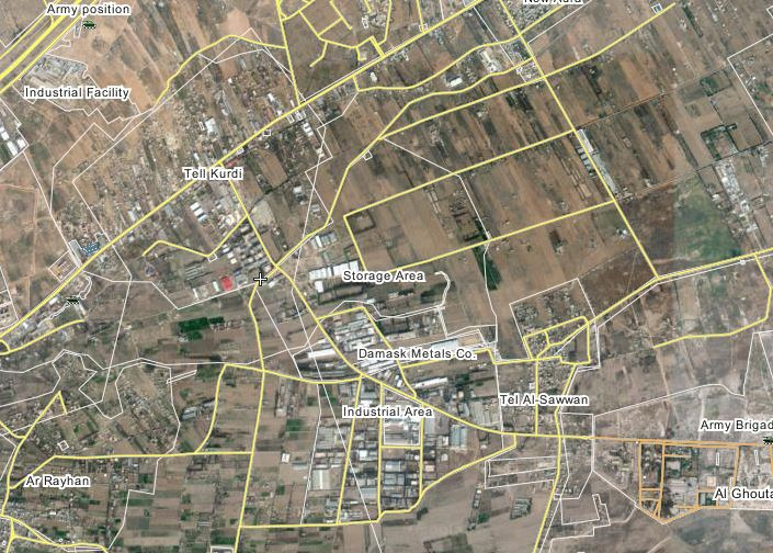Photo of Key rebel supply route cutoff by the Syrian Army in Greater Damascus