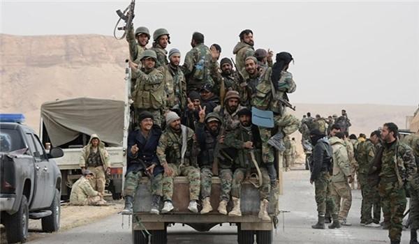 Syrian Army Troops Seize ISIS-Held Town of Al-Quaryatayn near Palmyra