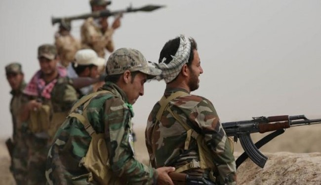 VIDEO: Iraqi Forces Backed by Artillery Units Advanced towards Bashir Village