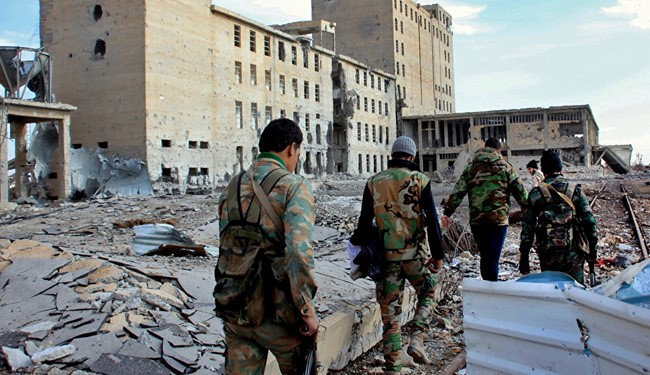 VIDEO: Syrian Army Troops Regain Airport near Damascus from ISIS
