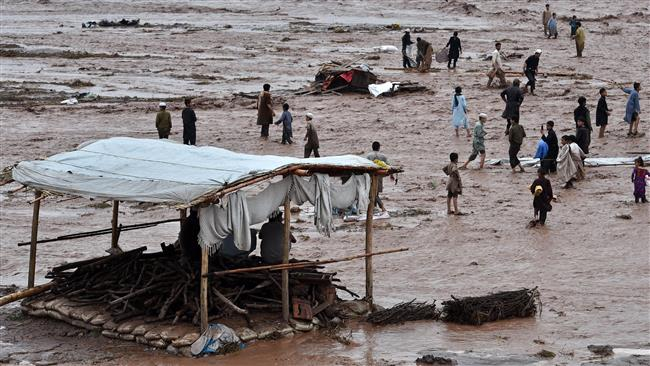 Photo of Death toll from Pakistan, Kashmir flash floods rises to 53