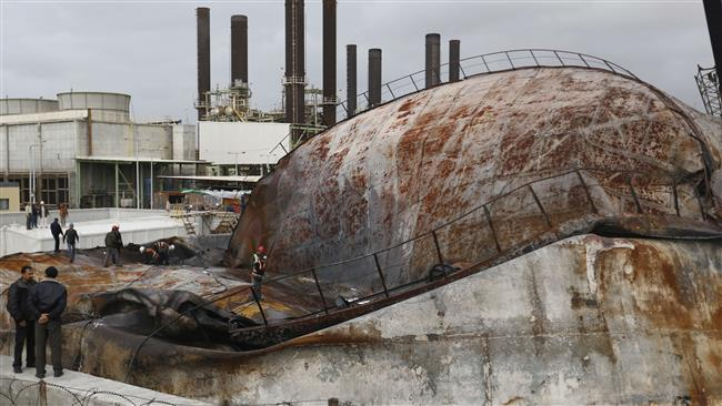 Photo of Gaza power plant closed due to fuel shortage