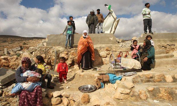 homeless palestine