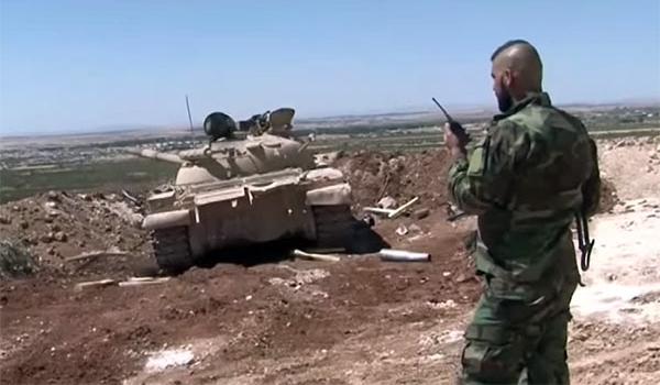 Photo of Syrian Armed Forces Hit ISIL Centers Hard East of Homs Province