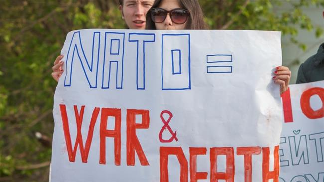 Photo of Moldovans protest against US, NATO military display in capital, urge them out