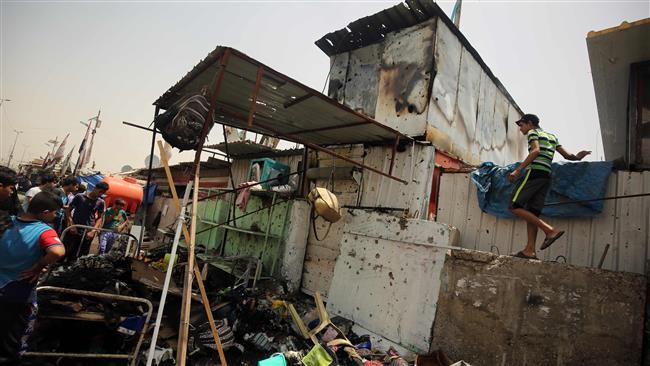 Photo of 14 more die in Baghdad car bombing