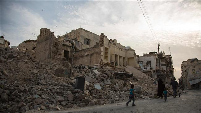 Photo of Terrorists shell mosques, hospital in Syria's Aleppo