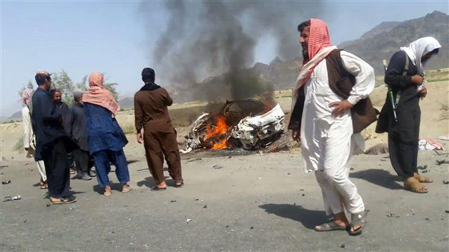 Photo of Brother of Mansour's driver suing US over lethal drone strike