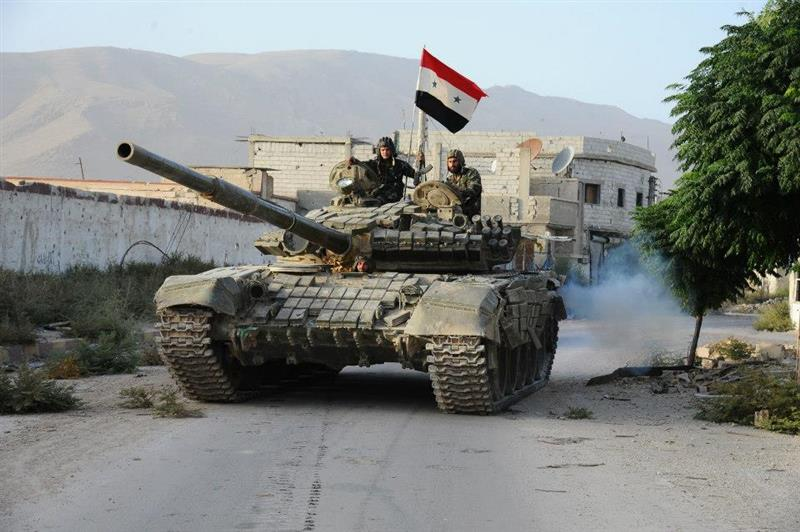 Photo of Syrian Army Controls 3 Strategic Points near Palmyra