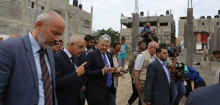Photo of Belgian FM call Israel to allow construction materials entry to Gaza