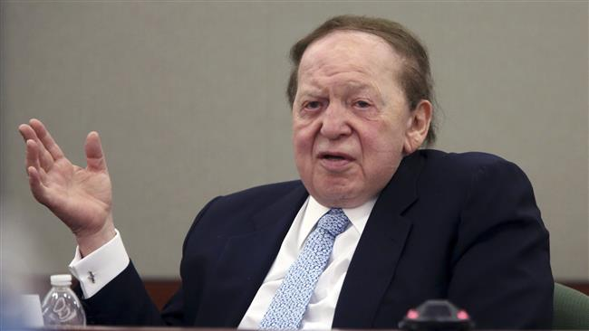 Photo of GOP mega-donor and hard-line Zionist Adelson endorses Trump